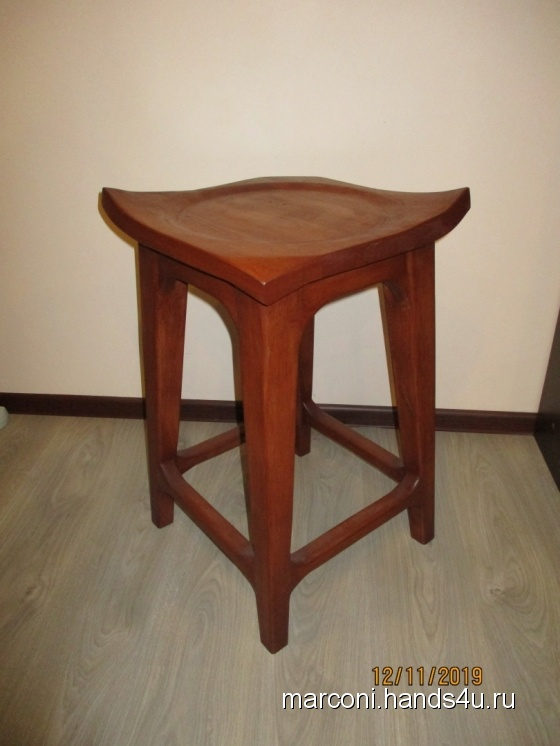 Купить барный стул (табурет), Табуретки, Мебель, Для дома и интерьера ручной работы. Мастер Marconi Wood (Marconi) .