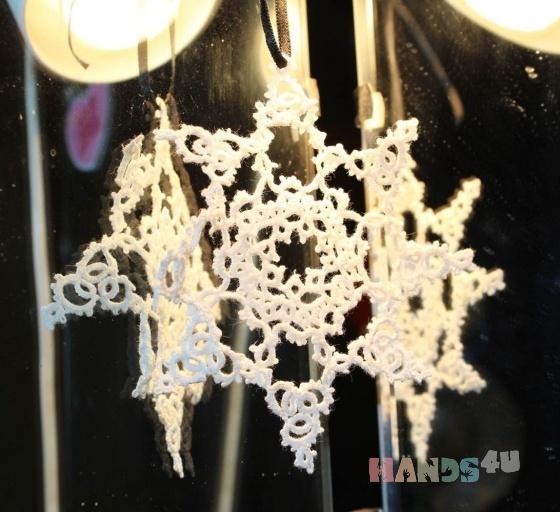 Купить салфетка снежинка, Декоративные салфетки, Текстиль, ковры, Для дома и интерьера ручной работы. Мастер Валерия Култыгина (Valeri) .