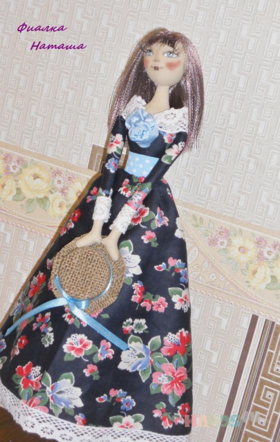 Купить барышня Капиталина, Куклы и игрушки ручной работы. Мастер Наташа Фиалка (fialka) .