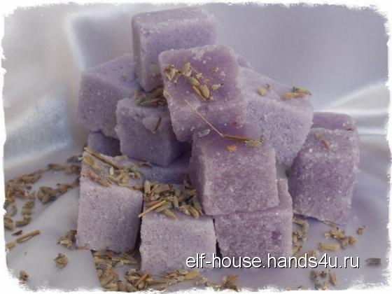 Купить Сахарный скраб для тела Лаванда, Скраб, Косметика ручной работы. Мастер Ирина Литвинова (Elf-House) .