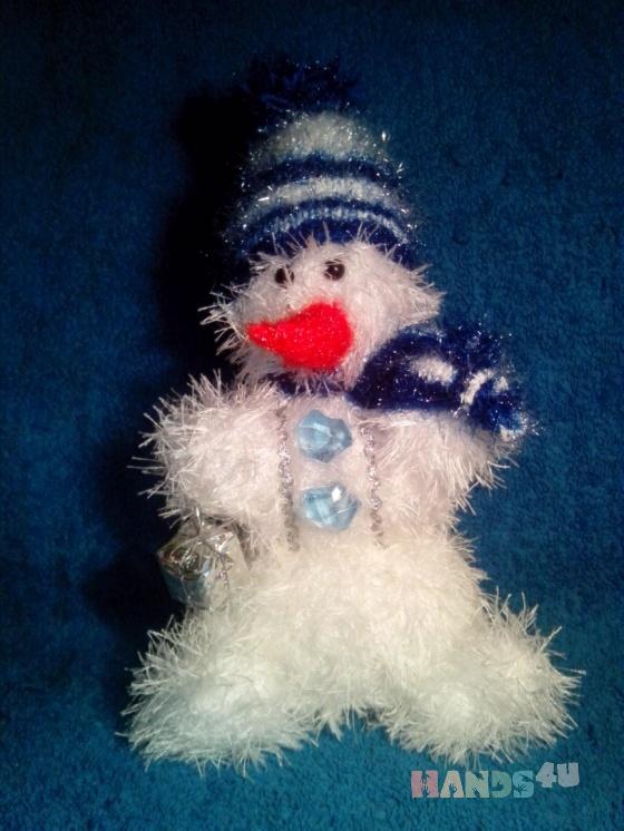 Купить Снеговик, Снеговики, Новый год, Подарки к праздникам ручной работы. Мастер Лана  (Sweetlana) . мягкая игрушка