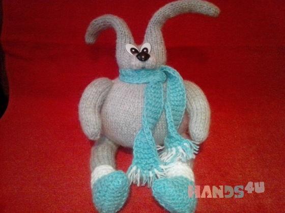 Купить Заяц-толстяк, Зайцы, Зверята, Куклы и игрушки ручной работы. Мастер Лана  (Sweetlana) . вязаная игрушка
