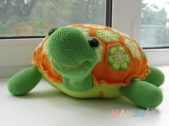 Купить Черепашка, Другие животные, Зверята, Куклы и игрушки ручной работы. Мастер Елена  (Lisa-Alisa) . черепаха