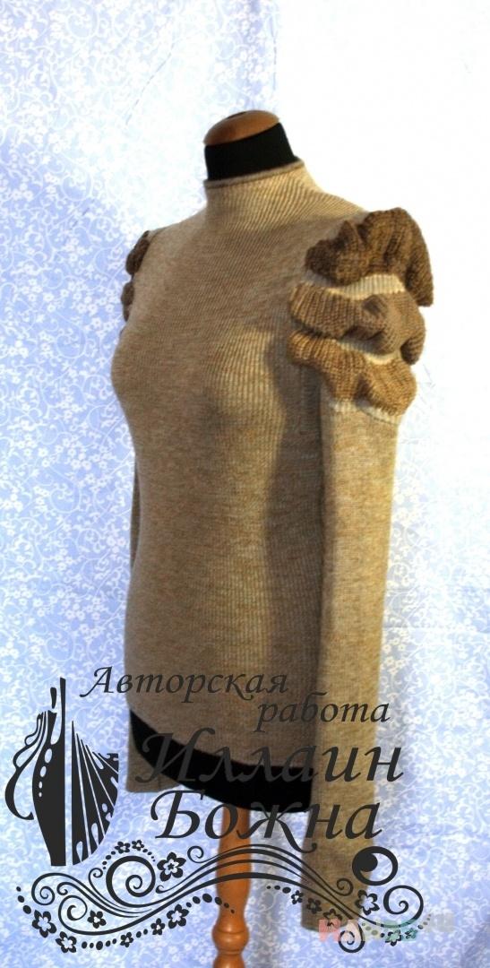 Купить Кофта Ивовый короед, Без застежки, Трикотажные кофточки, Кофты и свитера, Одежда ручной работы. Мастер Иллаин Божна (Illain) .