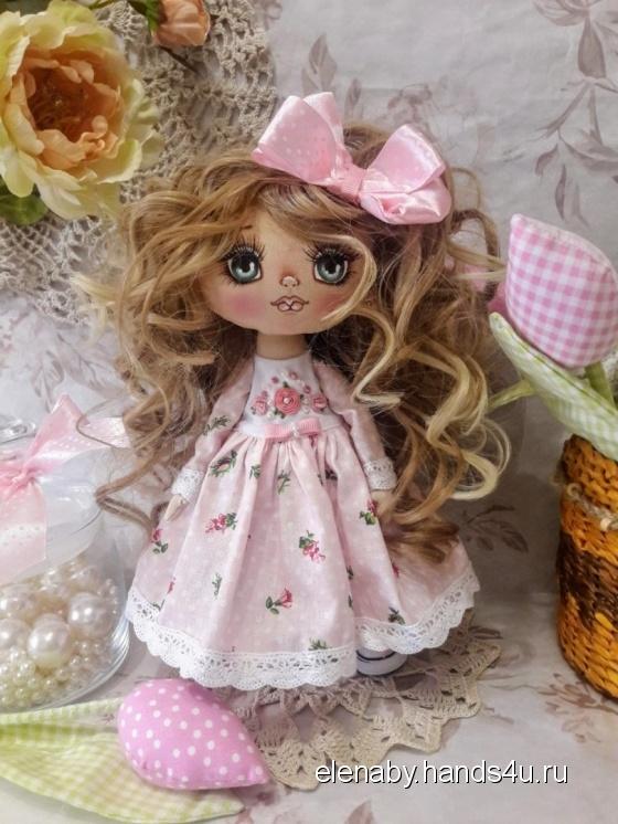 Купить кукла текстильная интерьерная, Текстильные, Коллекционные куклы, Куклы и игрушки ручной работы. Мастер Елена Ковалева (ElenaBY) . авторская кукла