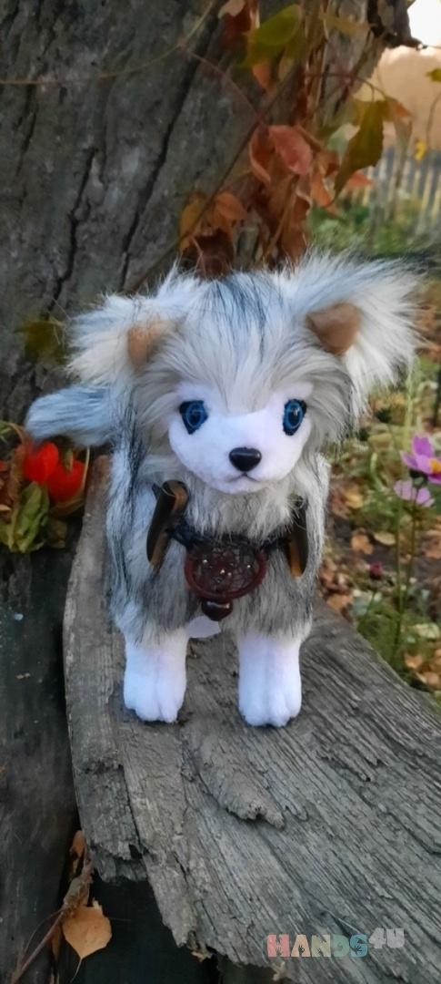 Купить Лиса-песец, Другие животные, Зверята, Куклы и игрушки ручной работы. Мастер   (Avi) . искусственный мех