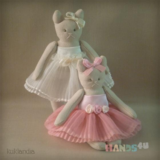 Купить Кошки-сестрёнки, Ароматизированные куклы, Куклы и игрушки ручной работы. Мастер Виктория К (kuklandia) . кошка