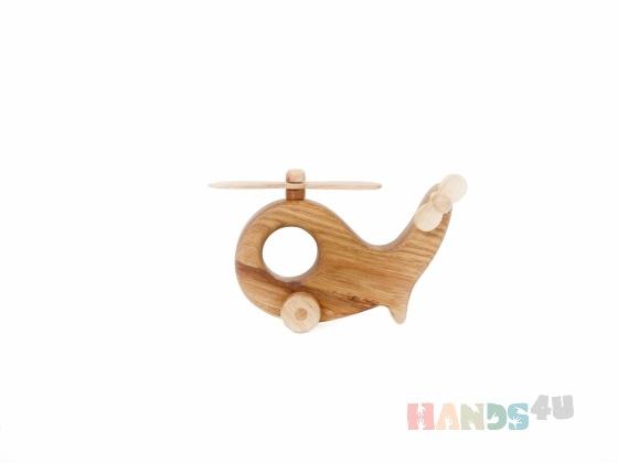 Купить Вертолетик Mini, Работы для детей ручной работы. Мастер Игорь Попопв (WoodGrandpa) . вертолёт