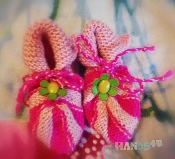 Купить Пинетки-тапочки, Детская обувь, Работы для детей ручной работы. Мастер Ирина Черепанова (Irina07) . пинетки - тапочки