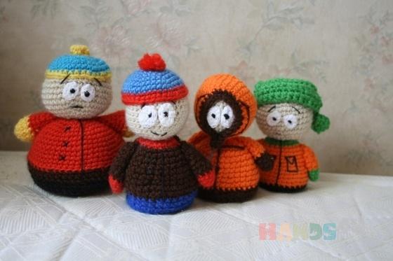 Купить Южный парк_South Park, Куклы и игрушки ручной работы. Мастер Вероника Козенко (Veronique) . south park