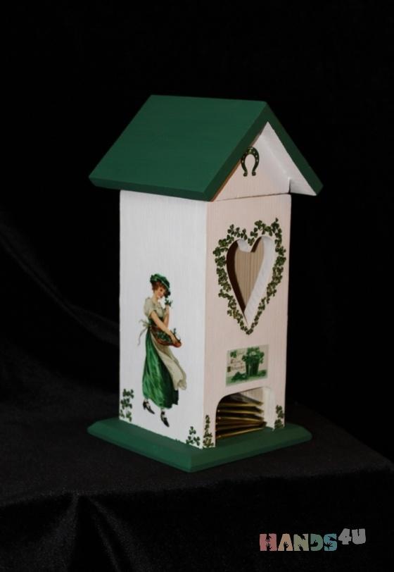 Купить домик для чайных пакетиков, Банки для продуктов, Кухня, Для дома и интерьера ручной работы. Мастер ирина кудинова (soult) . подарок