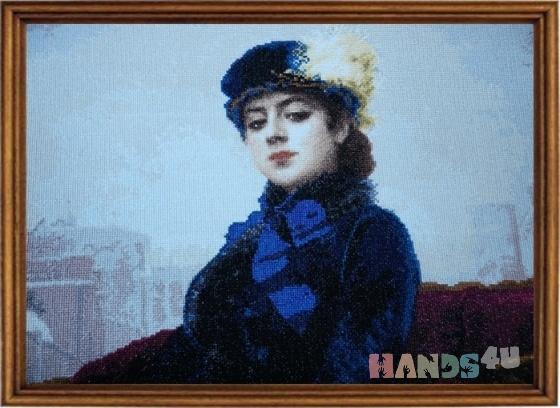 Купить Репродукция картины Неизвестная, Репродукции, Картины и панно ручной работы. Мастер Анна Серая (AnnaGray79) .