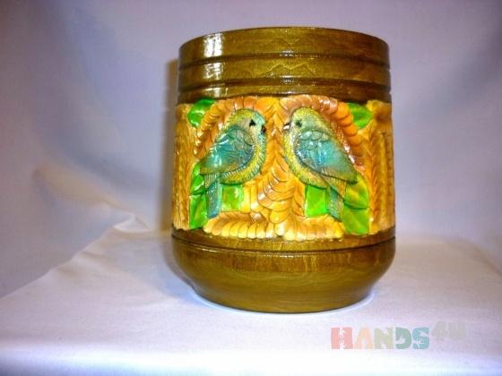 Купить кружка, Для дома и интерьера ручной работы. Мастер елена михайлова (pioner) . дерево - липа