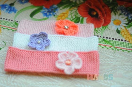 Купить Повязка на голову для девочки, Работы для детей ручной работы. Мастер Ирина Федорова (fox2157) . повязка