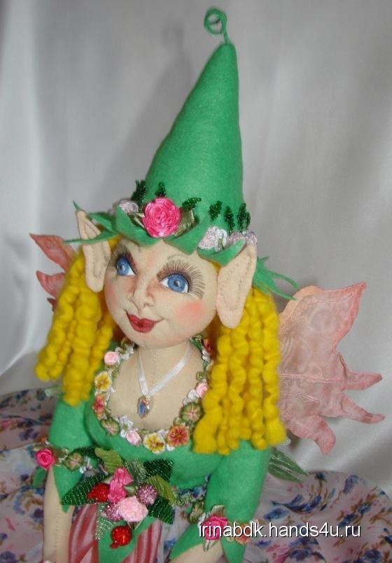 Купить Эльф, Феи, Сказочные персонажи, Куклы и игрушки ручной работы. Мастер Ирина Бадюкова (Irinabdk) .