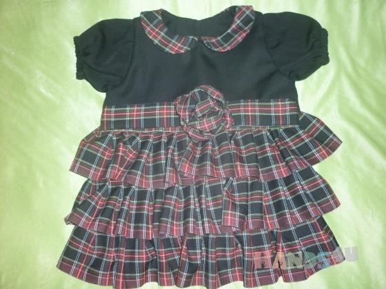 Купить Шерстяное платье для малышки, Платья, Одежда для девочек, Работы для детей ручной работы. Мастер Ирина  (MIrina) . черный