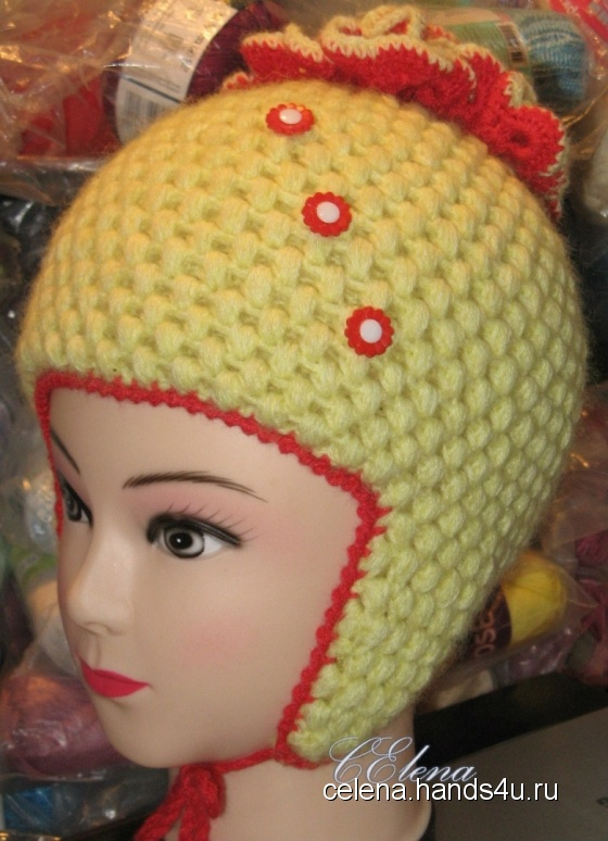 Купить зимняя шапка, Шапочки, шарфики, Одежда для девочек, Работы для детей ручной работы. Мастер Елена Смирнова (CElena) . нитки мохер с акрилом