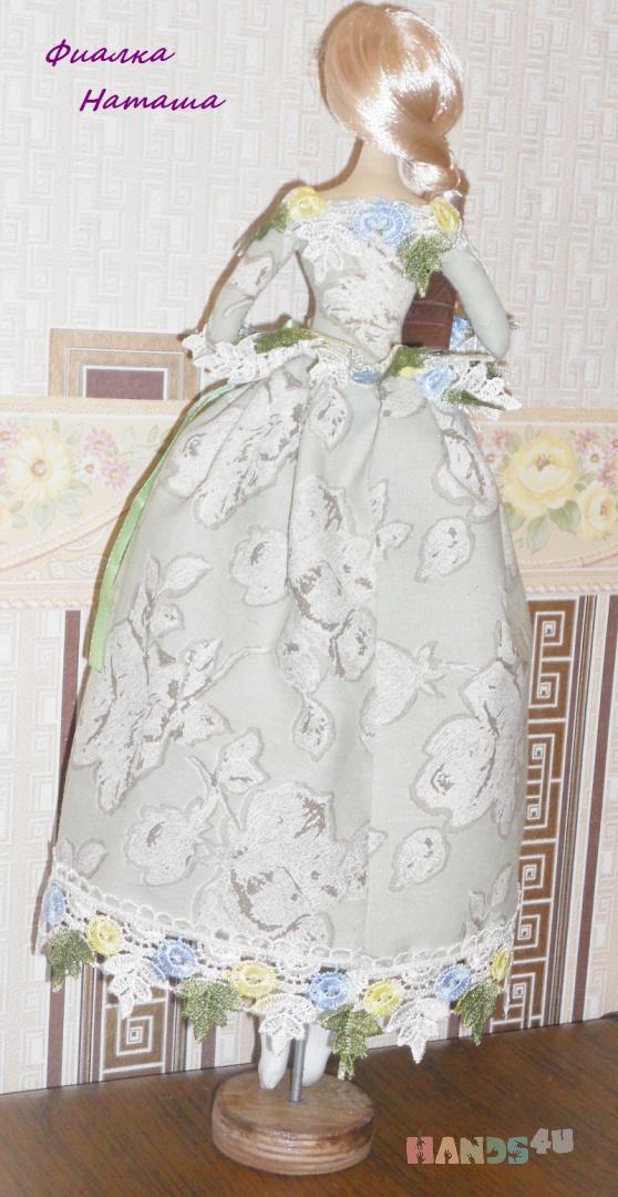 Купить барышня Полина, Куклы и игрушки ручной работы. Мастер Наташа Фиалка (fialka) .