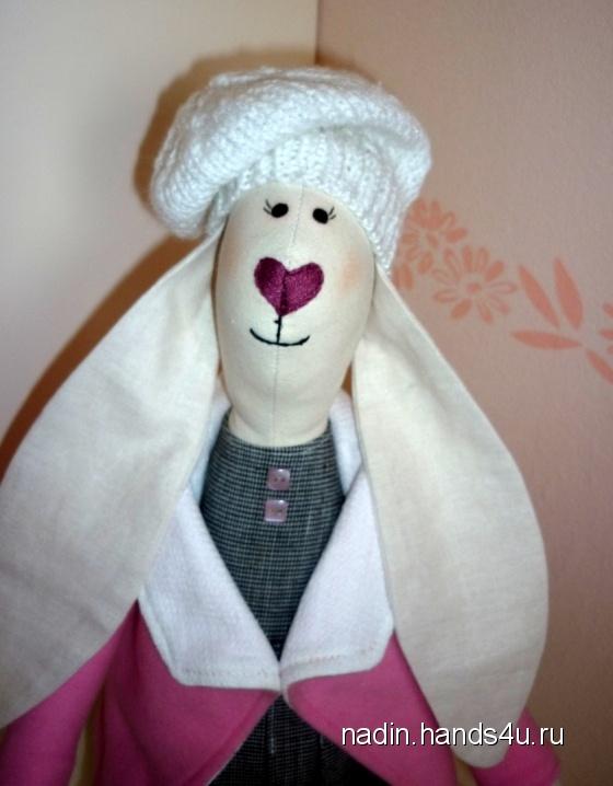 Купить Крольчиха , Куклы Тильды, Куклы и игрушки ручной работы. Мастер Nadin R (Nadin) . кролик