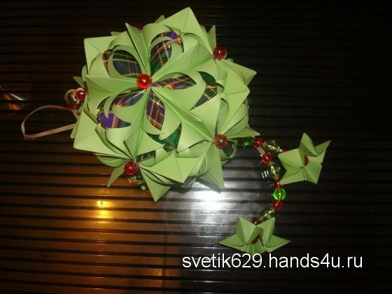 Купить Кусудама, Кусудамы, Сувениры и подарки ручной работы. Мастер Светлана Матвеева (Svetik629) .