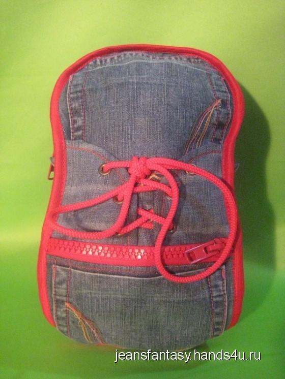 Купить Детский рюкзак - кроссовок, Рюкзаки, Сумки и аксессуары ручной работы. Мастер Фантазия Джинсовая (jeansfantasy) . турецкие джинсы