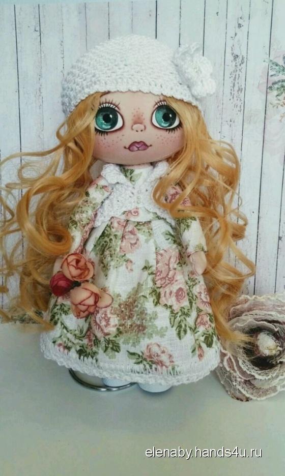 Купить кукла коллекционная текстильная, Текстильные, Коллекционные куклы, Куклы и игрушки ручной работы. Мастер Елена Ковалева (ElenaBY) . интерьерная кукла