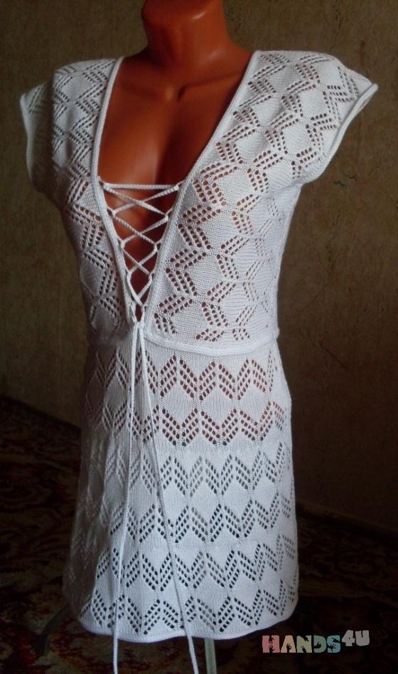 Купить Пляжное платье Дженифер, Пляжные, Платья, Одежда ручной работы. Мастер   (Olga300476) . пляжная одежда