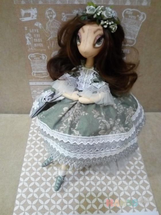 Купить Кукла ручной работы, Текстильные, Коллекционные куклы, Куклы и игрушки ручной работы. Мастер Елена Вилкул (ele-vilk) . авторская кукла