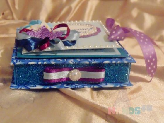 Купить Коробочка для денежного подарка, Подарки для новорожденных, Подарки к праздникам ручной работы. Мастер Светлана Овчинникова (Ovelana) . подарок на рождение