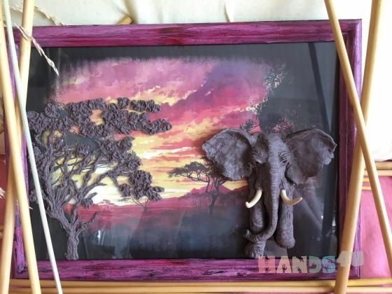 Купить Африка, Для дома и интерьера ручной работы. Мастер Александр Доронин (Chester) . картины
