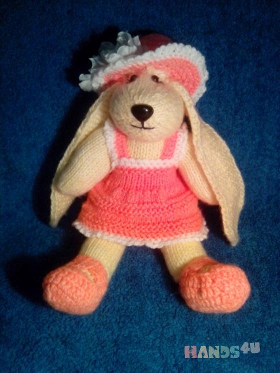 Купить Собачка, Собаки, Зверята, Куклы и игрушки ручной работы. Мастер Лана  (Sweetlana) . мягкая игрушка