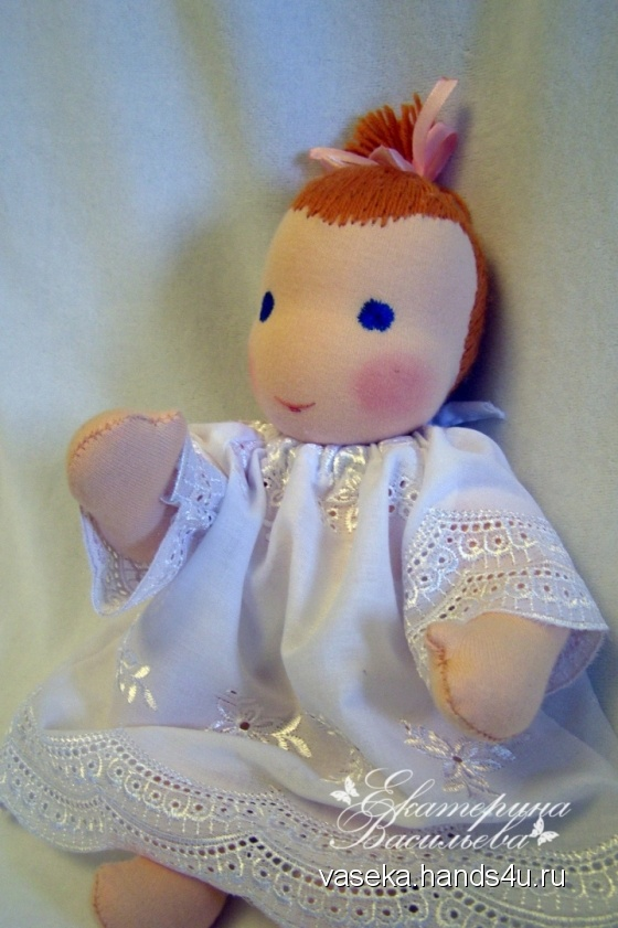 Купить Вальдорфская кукла Младенец, Вальдорфская игрушка, Куклы и игрушки ручной работы. Мастер Екатерина Васильева (vaseka) . вальдорфская кукла
