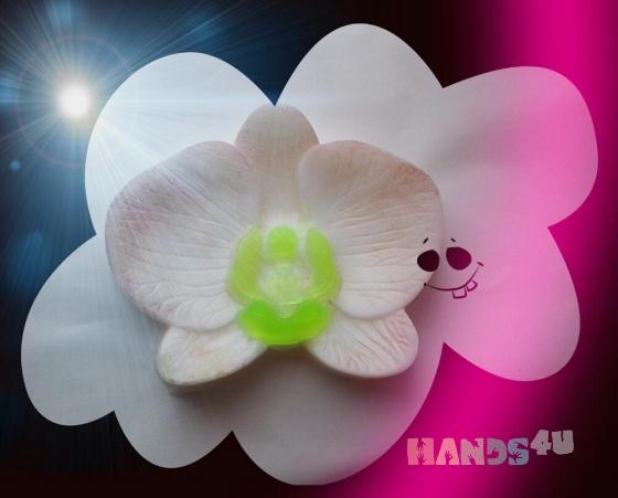 Купить орхидея мыло, Цветочное, Мыло, Косметика ручной работы. Мастер елена колгина (FANTASYe) .