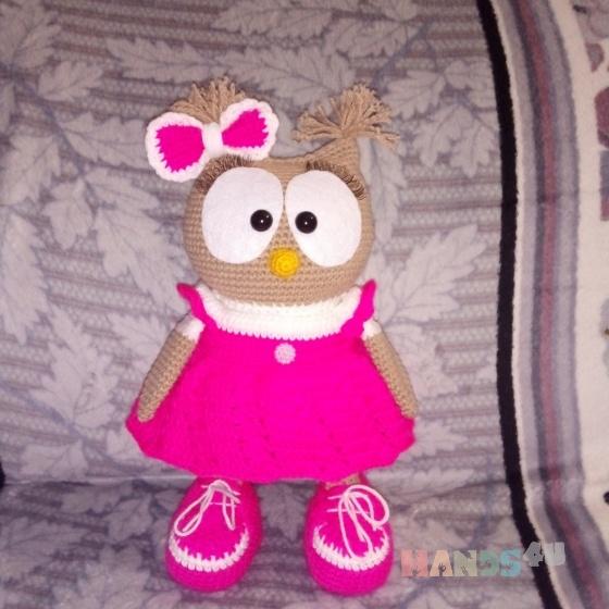 Купить Сова, Куклы и игрушки ручной работы. Мастер Эмма Котова (Emma1) .