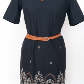 44ce0afcece Платье вышивка крестиком. Готовая работа