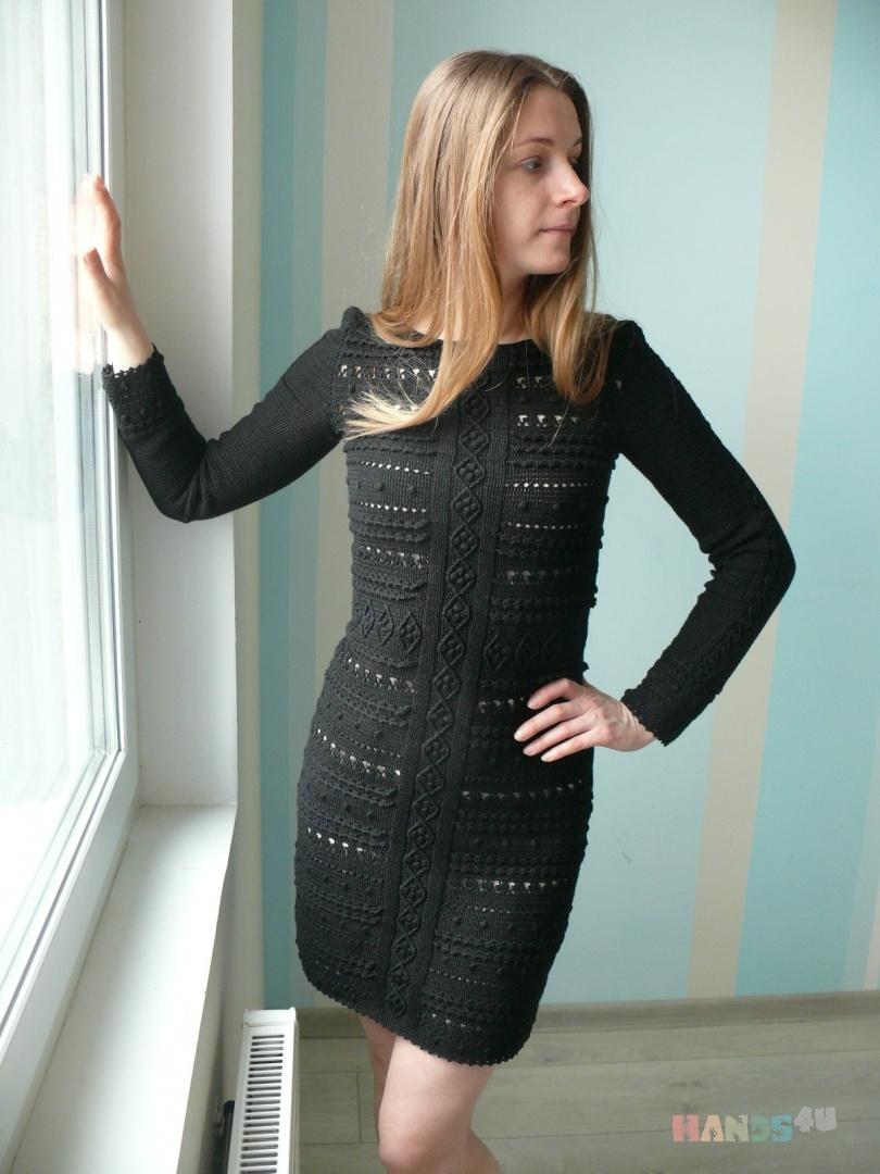 8799e94dd43 Маленькое черное платье крючком ID 8771