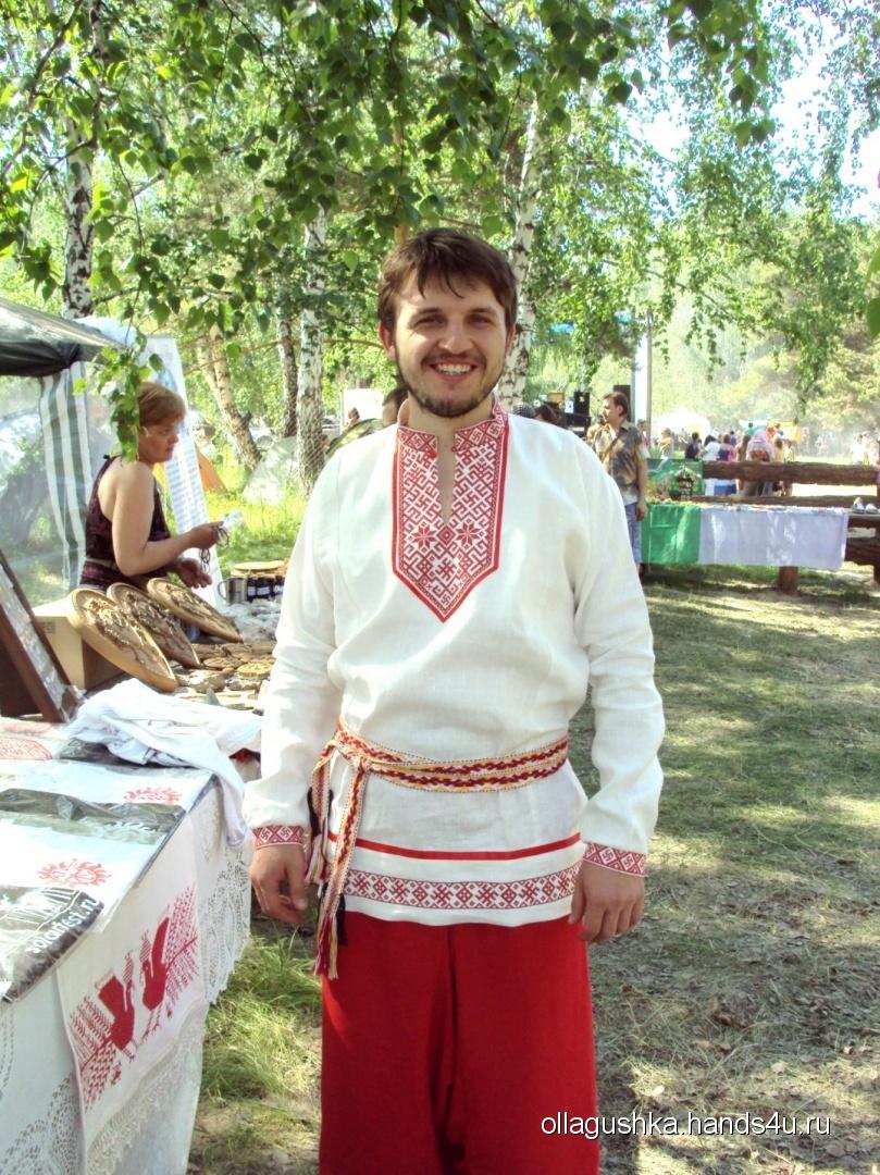 Славянские рубахи и