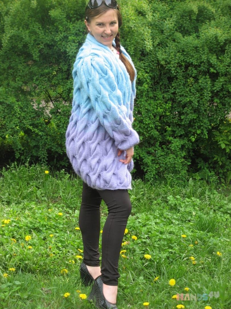1e929ac9703b Купить Кардиган в стиле LALO, Кардиганы, Кофты и свитера, Одежда ручной  работы. Мастер Марина Степанюк (marina83) .