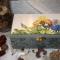 Купить Мятные ирисы шкатулка , Роспись, Шкатулки, Для дома и интерьера ручной работы. Мастер Надежда Лях (nadi-lyakh) .