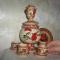 Купить Самоварный набор, Русский стиль ручной работы. Мастер Татьяна Гринчук (rusever) . самовар
