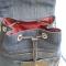 Купить рюкзак из джинсовой ткани и макраме, Рюкзаки, Сумки и аксессуары ручной работы. Мастер Ирина Макрушина (irina67) .