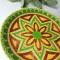 Купить Тарелка декоративная керамическая на стену (на подставке), Для дома и интерьера ручной работы. Мастер Елена Сармина (Latika108) . декор для интерьера