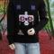 Купить Мужской этнический свитер Огайо, Свитера, Для мужчин, Одежда ручной работы. Мастер Владимир  (Skiff) . мужской свитер крупной вязки
