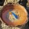 Купить Синяя рыбка нарисована в кокосе, Картины и панно ручной работы. Мастер Марина Калиновская (Aeroart) . 3d фигурки