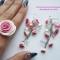 Купить розовые розы, Полимерная глина, Комплекты украшений, Украшения ручной работы. Мастер Таисия Шишкина (tsva0412) . бусины