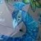 Купить mother-Bluebird, Зонты, Аксессуары ручной работы. Мастер Александра Васильева (Vasilisa) . зонтроспись по ткани