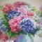Купить Гортензия, Картины цветов, Картины и панно ручной работы. Мастер Татьяна  (Gatita) .