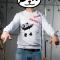 Купить Свитшот ПАНДА ГЭНГСТА, Джемпера, Для мужчин, Одежда ручной работы. Мастер Дмитрий Архипов (Fancy-Panda) . хлопок с лайкрой