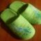 Купить Валяные тапочки, Домашние тапочки, Обувь ручной работы. Мастер Иринна  (irinnaN) .