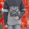 Купить Мужской новогодний свитер крупной вязки, Свитера, Для мужчин, Одежда ручной работы. Мастер Владимир  (Skiff) . свитер крупной вязки